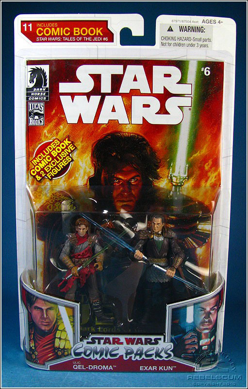 Star Wars: The Legacy Collection 10 Comic Pack 11 Packaging