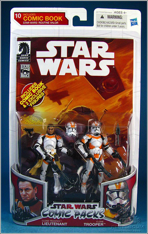 Star Wars: The Legacy Collection 10 Comic Pack 10 Packaging