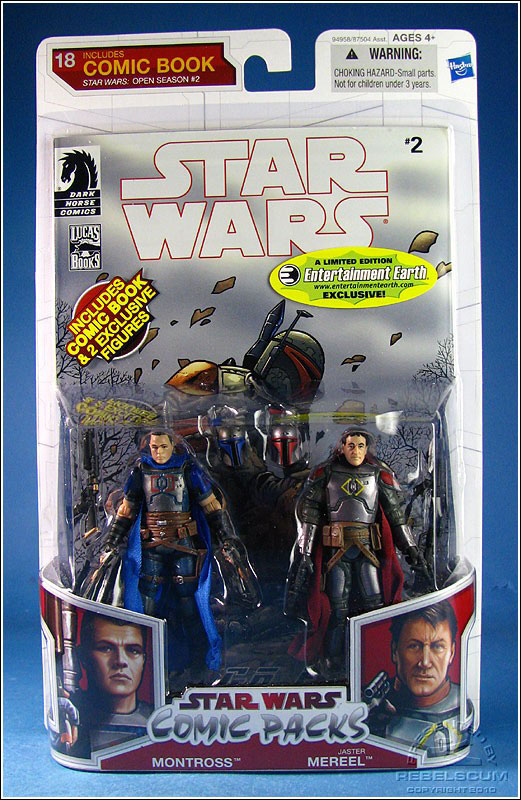 Star Wars: The Legacy Collection 10 Comic Pack 18 Packaging