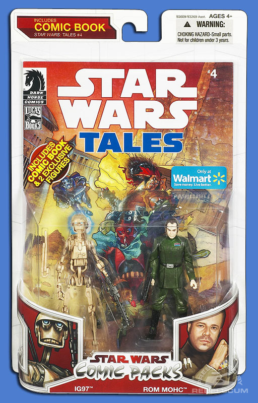 Star Wars: The Legacy Collection 09 Comic Pack Wal*Mart Exclusive 10 Packaging