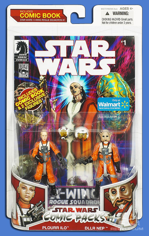Star Wars: The Legacy Collection 09 Comic Pack Wal*Mart Exclusive 11 Packaging