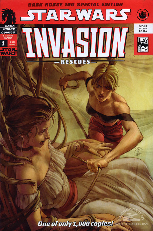 Invasion–Rescues #1 (DH100 Edition)