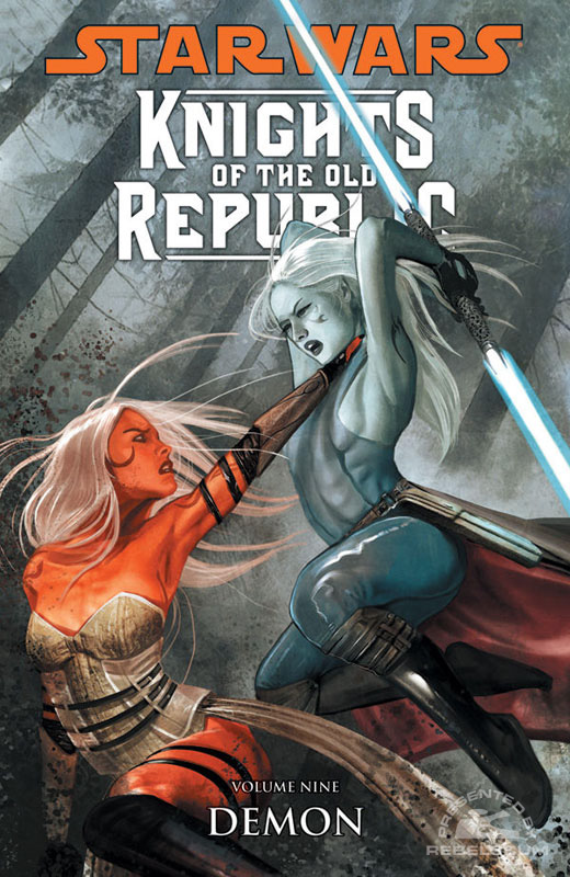Knights of the Old Republic Trade Paperback #9