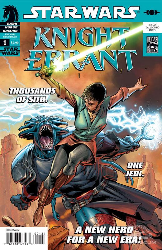 Knight Errant 1 (Dave Ross variant)