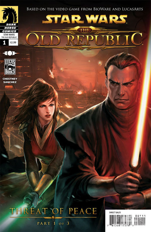 The Old Republic 1 (Alternate Cover)