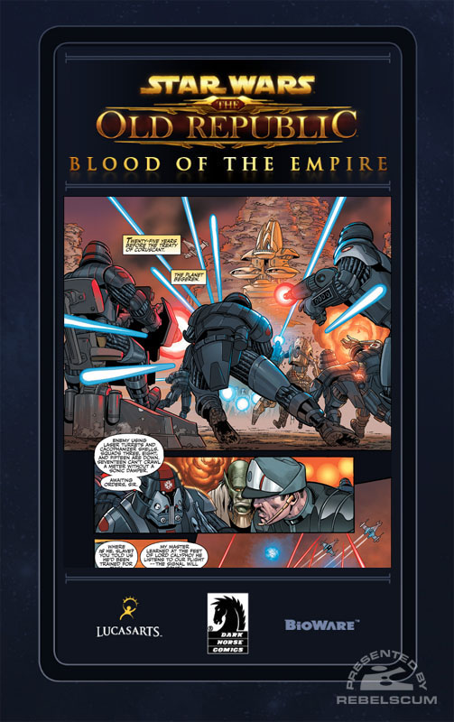 The Old Republic - Blood of the Empire #1