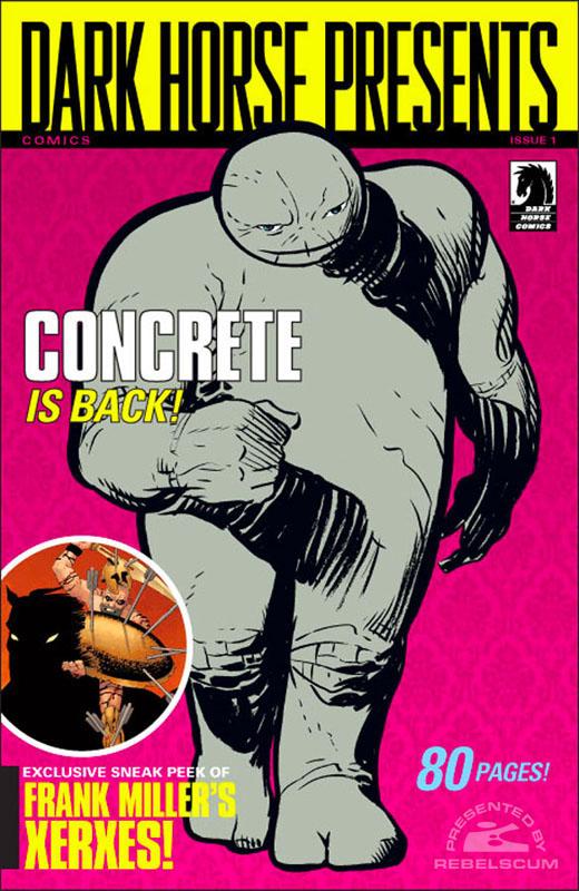 Dark Horse Presents 1 (Paul Chadwick Cover)