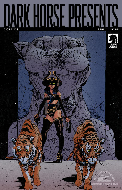 Dark Horse Presents 1 (Paul Pope, Limited and Signed Cover)