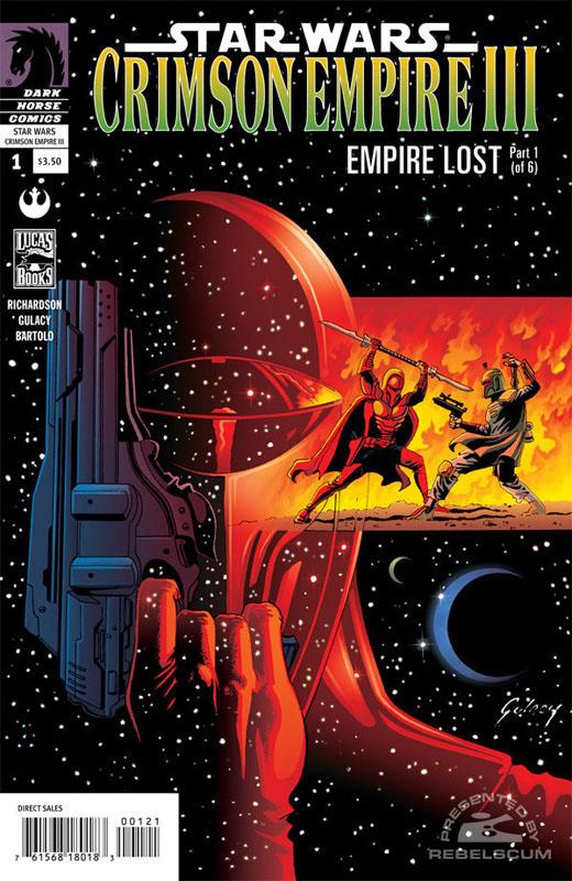Crimson Empire III (Paul Gulacy alternate cover)