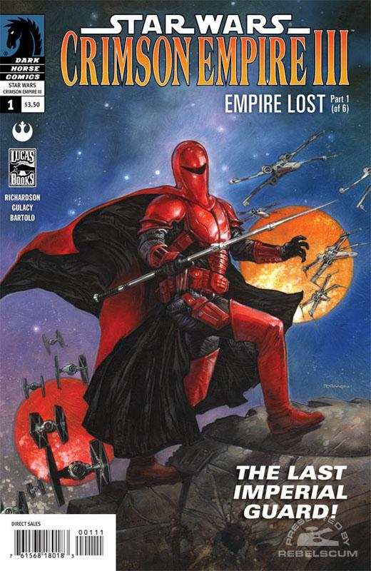 Crimson Empire III – Empire Lost #1