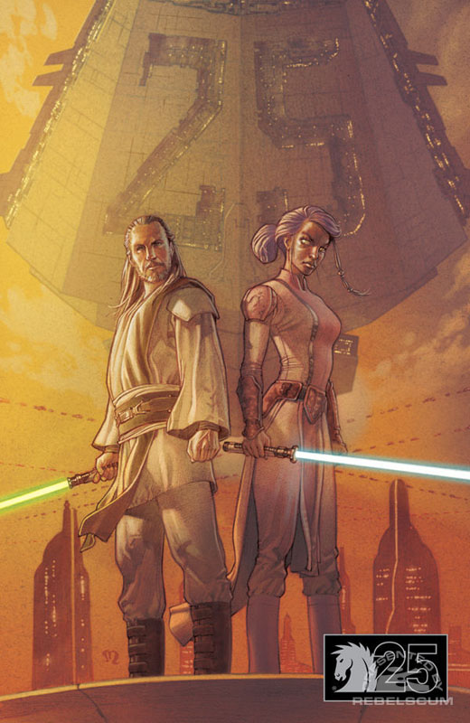 Jedi–The Dark Side #1 (Dark Horse 25th Anniversary Variant)