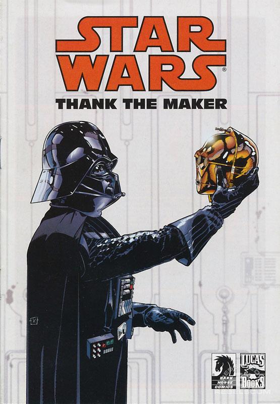 Thank The Maker (Gentle Giant Custom Mini-Comic)