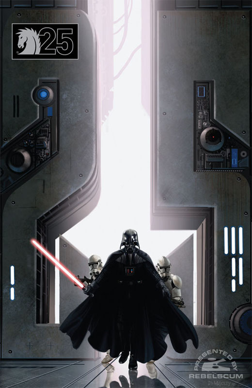 Darth Vader and the Lost Command (25th Anniversary Variant Doug Wheatley cover)
