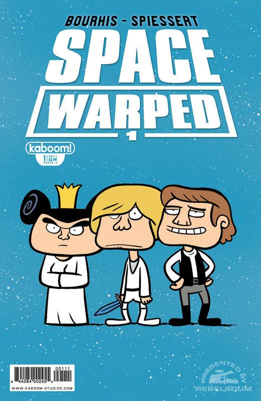 Space Warped #1 (Alternate Cover)