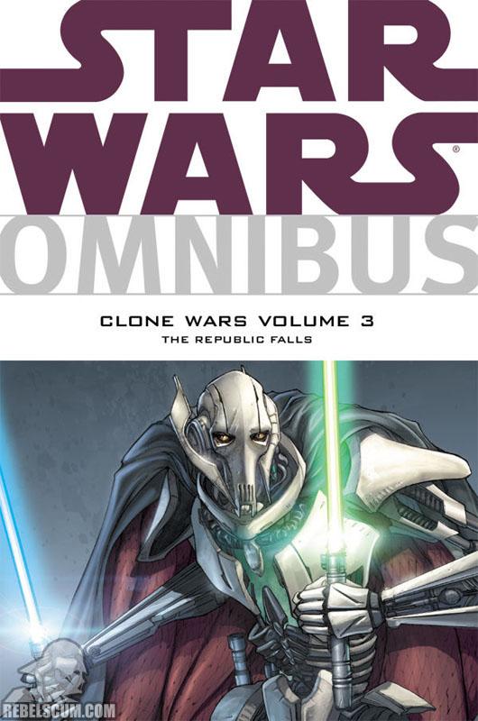 Star Wars Omnibus: Clone Wars – The Republic Falls #3