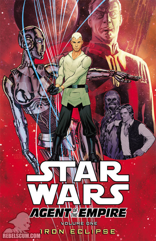 Agent of the Empire – Iron Eclipse Trade Paperback #1