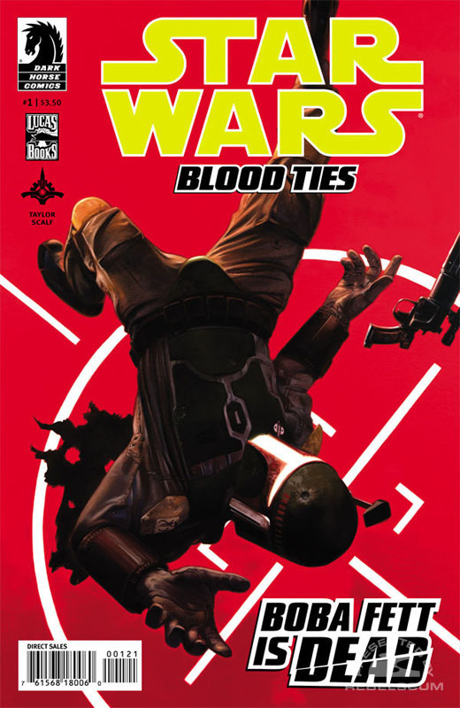 Blood Ties–Boba Fett is Dead 1 (David Palumbo variant cover)