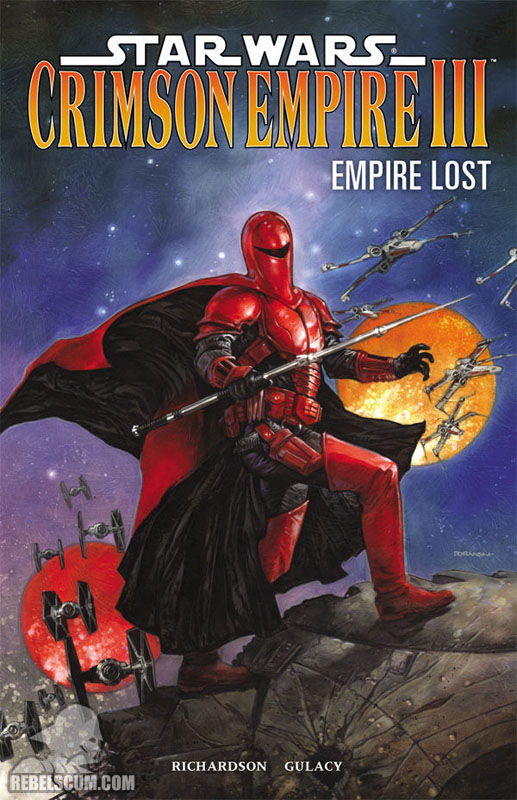 Crimson Empire III – Empire Lost Trade Paperback