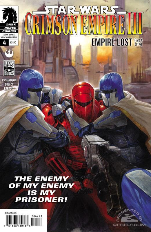 Crimson Empire III – Empire Lost #4
