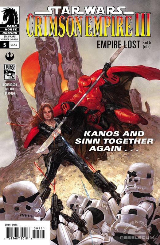 Crimson Empire III – Empire Lost #5