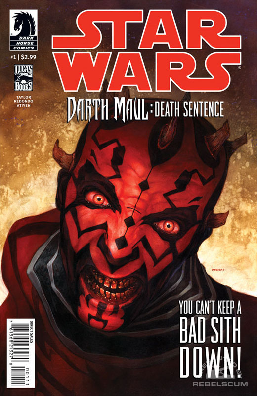 Darth Maul – Death Sentence #1