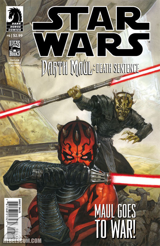 Darth Maul – Death Sentence #4