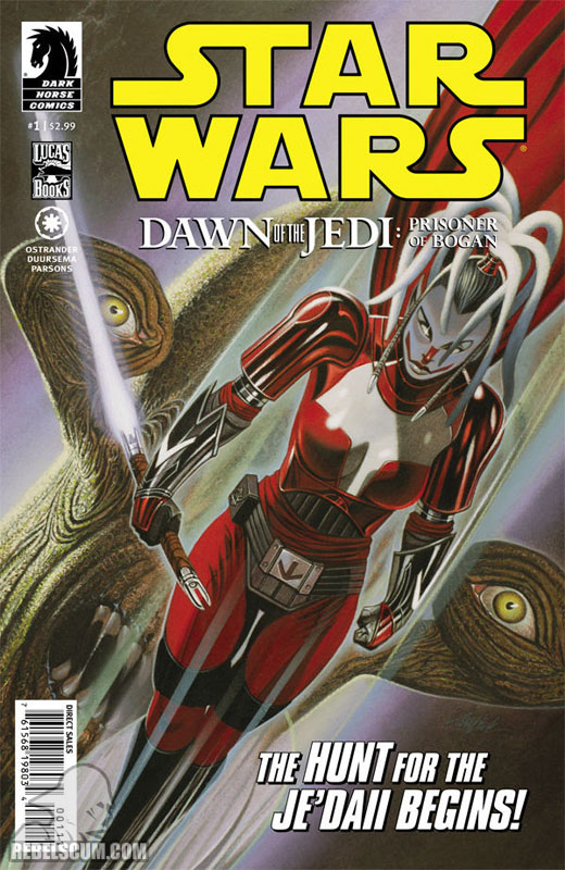 Dawn of the Jedi – Prisoner of Bogan #1