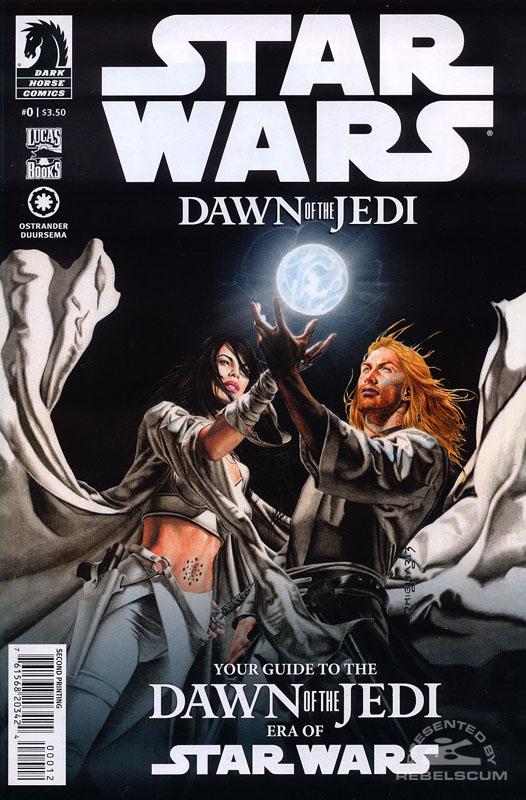 Dawn of the Jedi 0 (2nd printing)