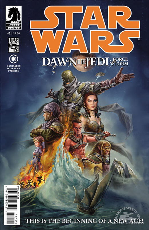 Dawn of the Jedi #1 (Gonzalo Flores variant cover)