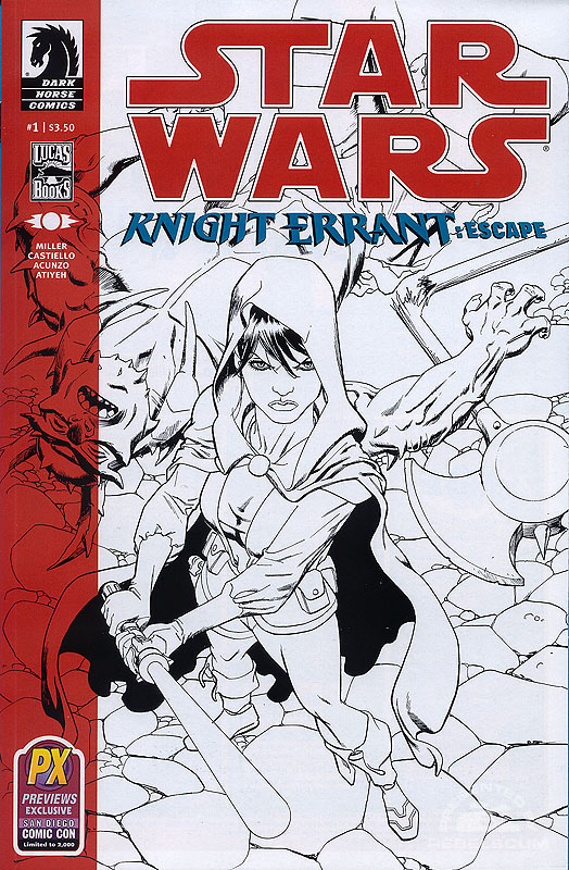 Star Wars: Knight Errant–Escape 1 (Previews Exclusive for San Diego Comic-Con International)