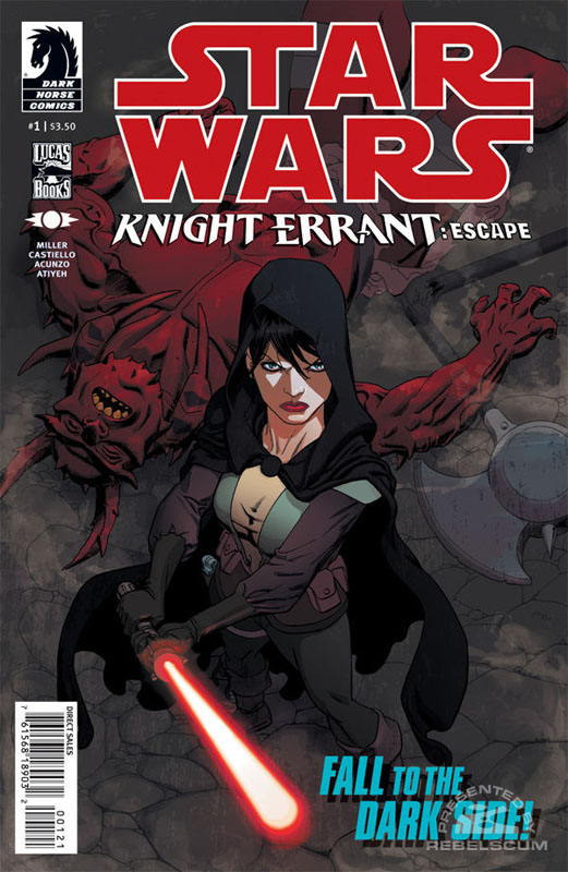 Star Wars: Knight Errant–Escape 1 (Mike Hawthorne variant cover)