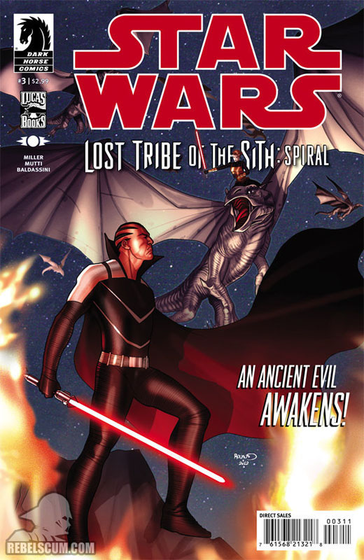 Lost Tribe of the Sith – Spiral #3