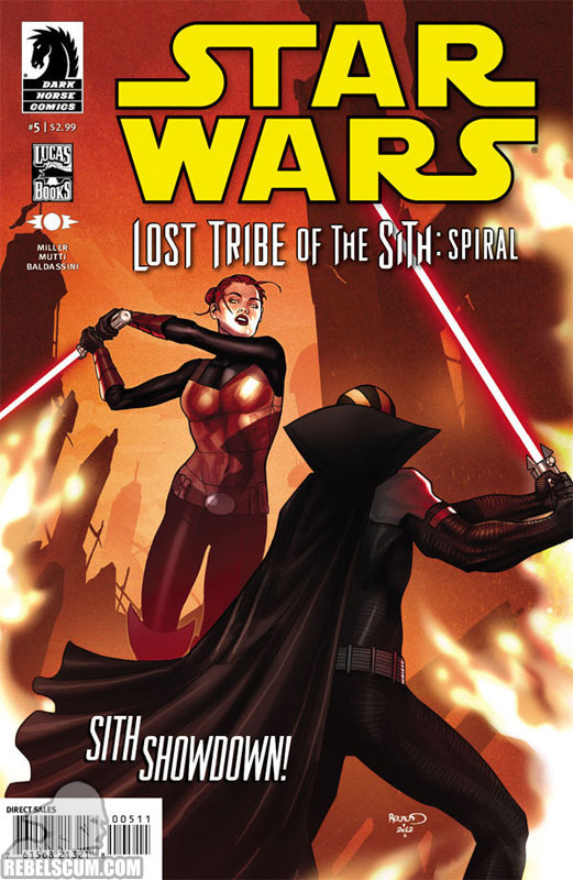 Lost Tribe of the Sith – Spiral #5