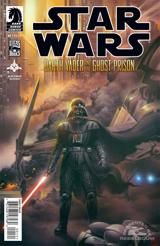 Darth Vader and the Ghost Prison 1 (Tsuneo Sanda variant cover)