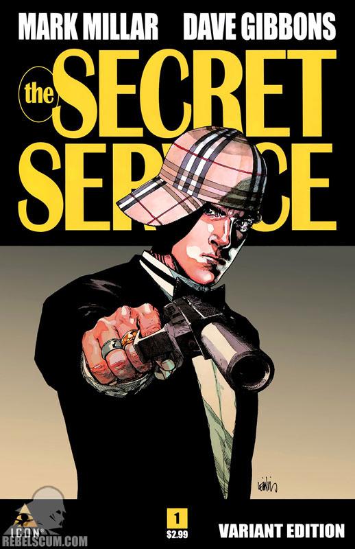 The Secret Service 1 (Retailer Variant Cover)