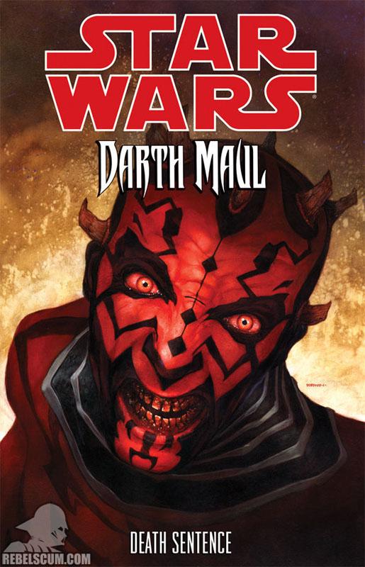 Darth Maul – Death Sentence Trade Paperback