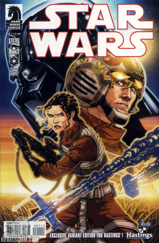 Star Wars 1 (Hastings exclusive variant)