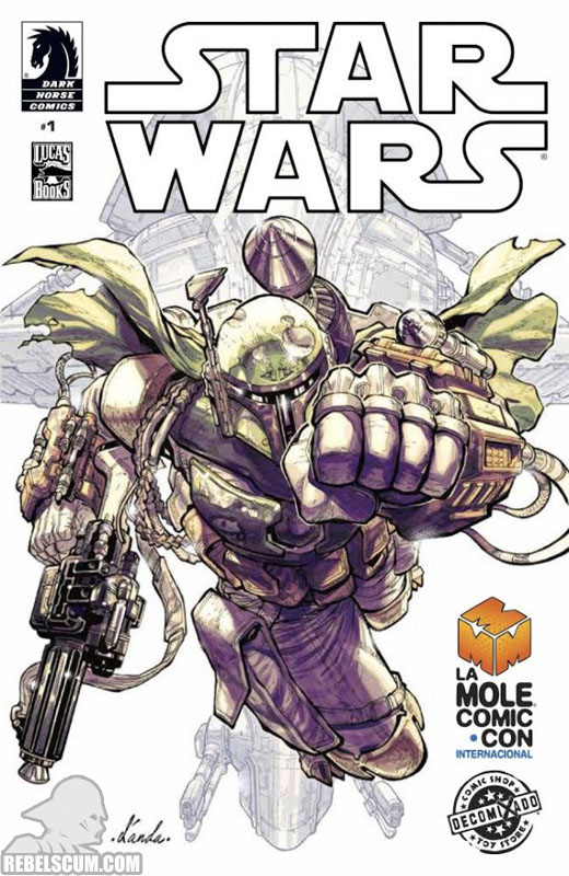 Star Wars 1 (La Mole Comic Con exclusive variant)