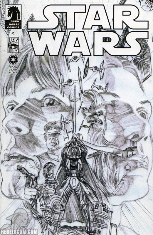 Star Wars 1 (exclusive sketch cover)