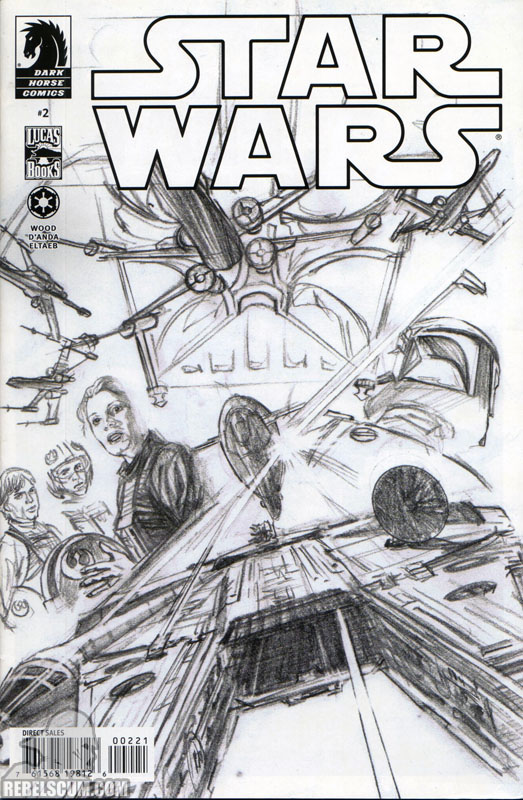 Star Wars 2 (Alex Ross sketch variant)