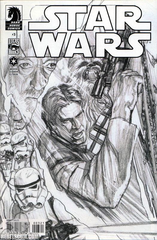 Star Wars #3 (Alex Ross sketch variant)