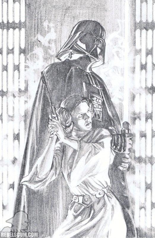 Star Wars #4 (Alex Ross sketch variant)