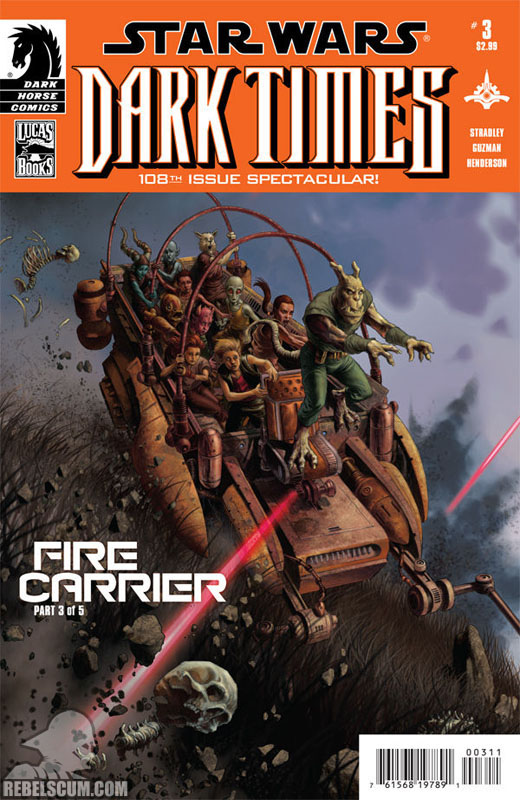 Dark Times – Fire Carrier #3