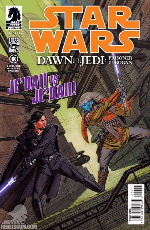 Dawn of the Jedi – Prisoner of Bogan #4