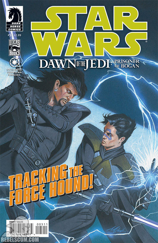 Dawn of the Jedi – Prisoner of Bogan #5