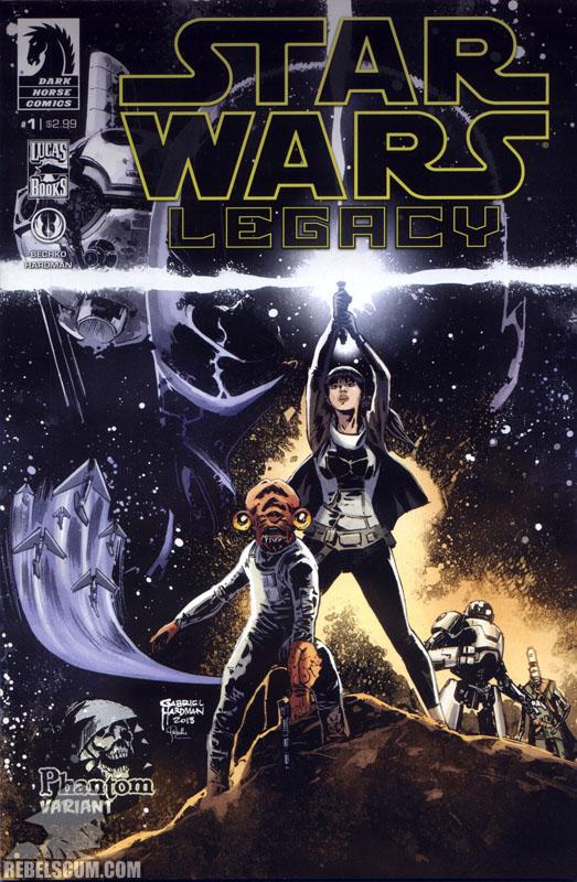 Legacy, Volume 2 #1 (Phantom Variant cover)