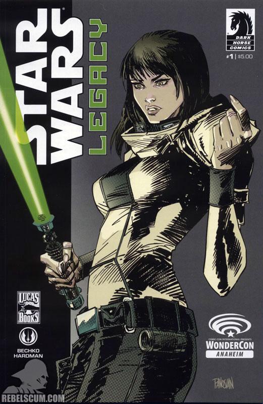 Legacy, Volume 2 #1 (WonderCon 2013 Variant cover)