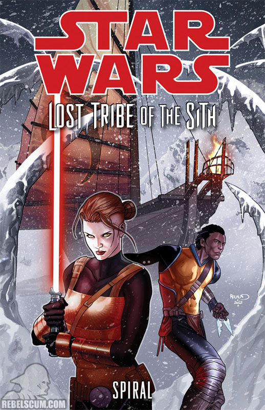 Lost Tribe of the Sith – Spiral Trade Paperback #1