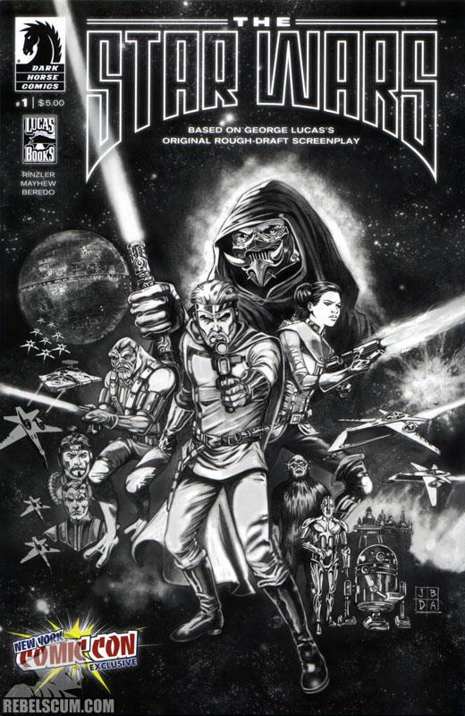 The Star Wars #1 (Jan Duursema B/W NYCC 2013 variant cover)