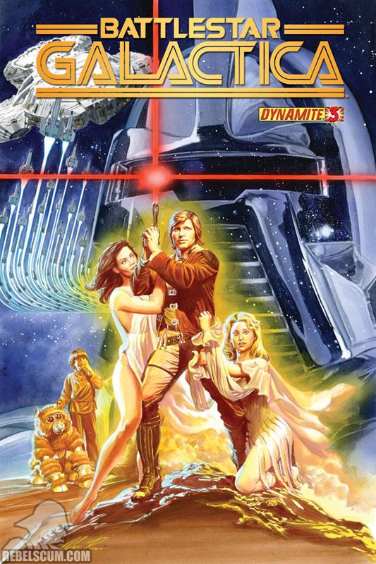 Battlestar Galactica #3 (Dynamite Comics)